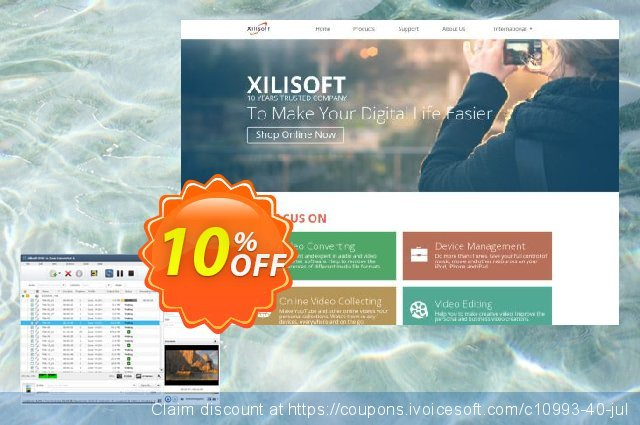 Xilisoft DVD to Zune Converter 6 discount 10% OFF, 2020 College Student deals offering deals