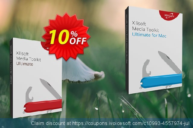 Xilisoft Media Toolkit Ultimate discount 10% OFF, 2020 Exclusive Student discount promo sales