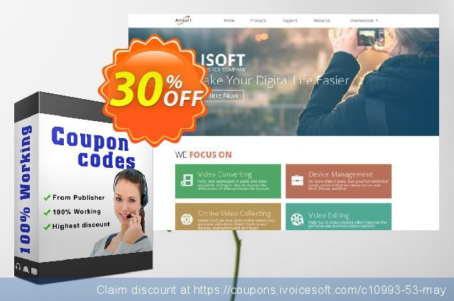 Xilisoft Video Cutter 2 discount 30% OFF, 2020 Happy New Year offering sales
