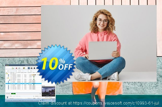 Xilisoft DVD to iPhone Converter for Mac discount 10% OFF, 2020 Back to School Promos offering sales