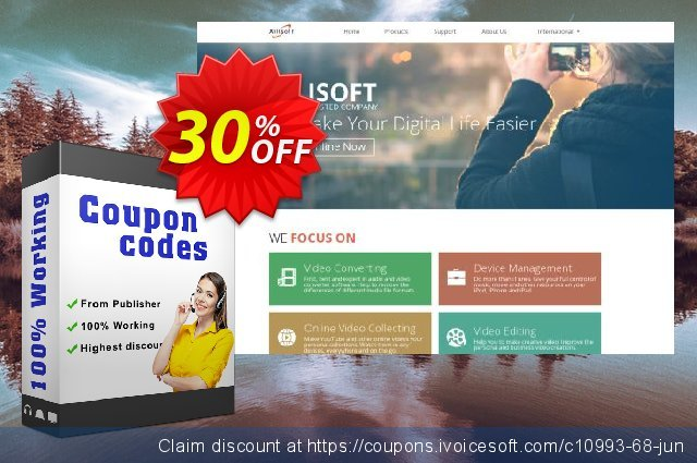 Xilisoft MP4 Converter 6 for Mac discount 30% OFF, 2020 Back to School offer offering sales
