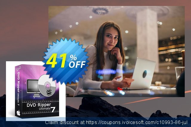 Xilisoft DVD Ripper Ultimate for Mac 激动的 产品销售 软件截图