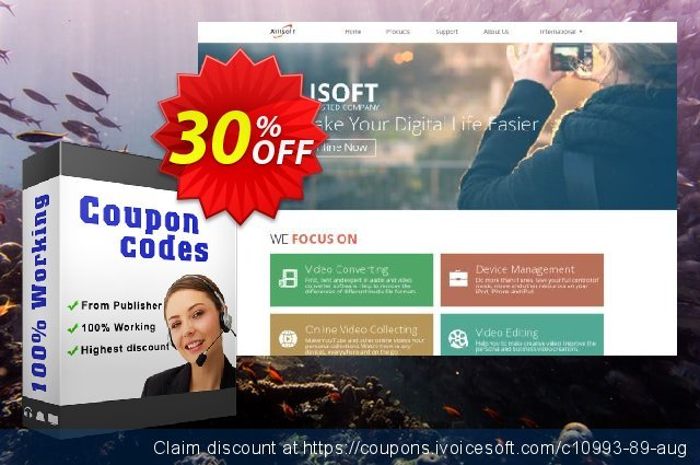 Xilisoft Video Converter Ultimate for Mac discount 30% OFF, 2020 Back to School offer promotions