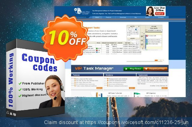 VIP Task Manager Pro (Special Offer)  최고의   제공  스크린 샷