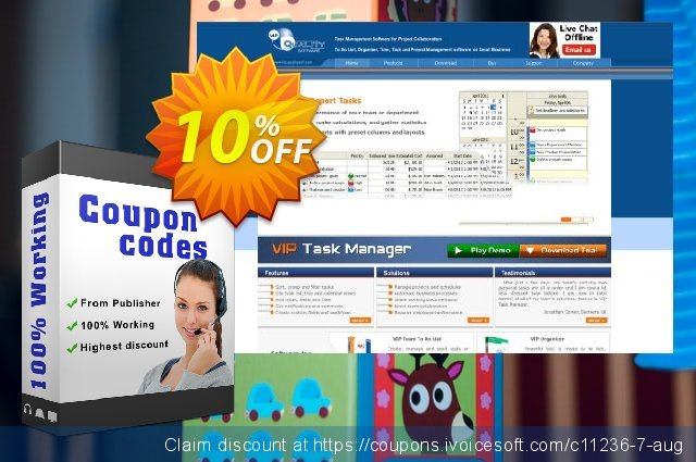 VIP Task Manager Std (Client/Server) discount 10% OFF, 2020 Happy New Year sales