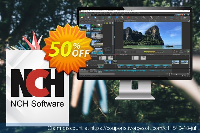 VideoPad Video Editor German discount 15% OFF, 2020 New Year's eve discounts