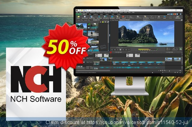 VideoPad Video Editor French discount 15% OFF, 2020 Thanksgiving Day deals