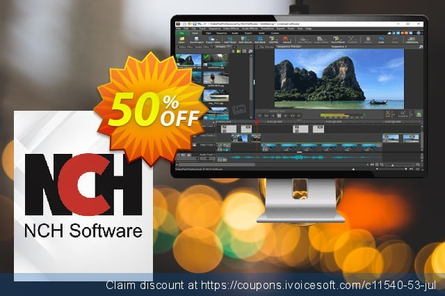VideoPad Video Editor Espanol discount 15% OFF, 2020 Back to School coupons sales
