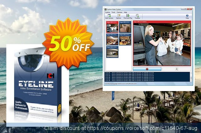 Eyeline Video Surveillance Software - Home User 惊人的 折扣 软件截图