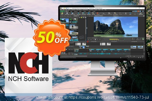 VideoPad Video Editor Home Edition discount 15% OFF, 2019 End year offering discount