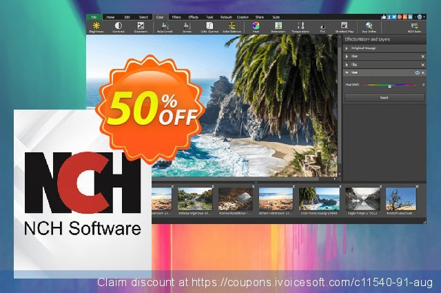 PhotoPad Photo Editing Software discount 50% OFF, 2021 New Year offering sales