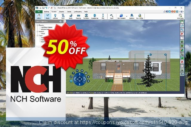 DreamPlan Home Design Software discount 50% OFF, 2021 New Year's Weekend offering sales