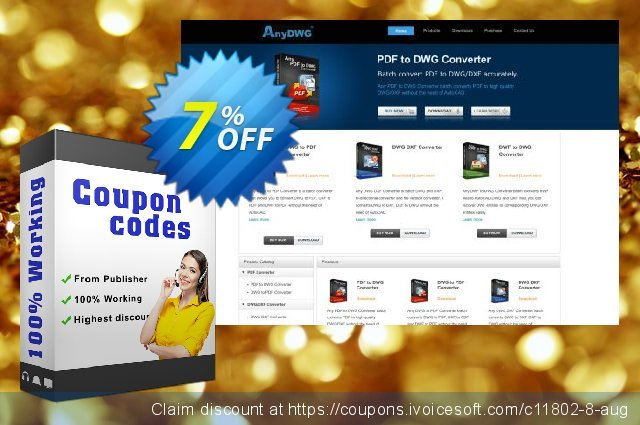 Any DWG to Image Converter Pro discount 7% OFF, 2019 Thanksgiving offering sales
