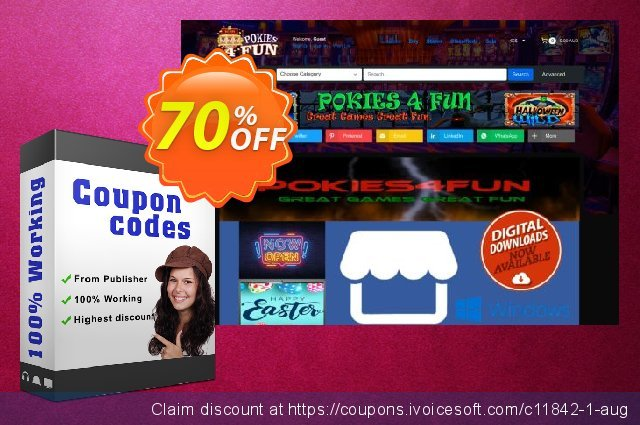 Pokies4fun: Slots Downunder discount 70% OFF, 2020 Father's Day offering sales