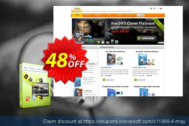 Any Video Converter Pro discount 48% OFF, 2021 April Fools' Day offering sales