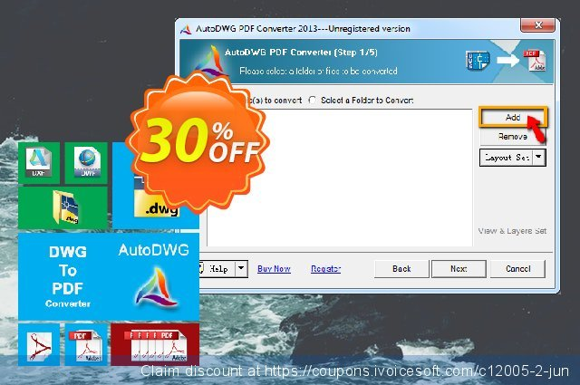 AutoDWG DWG to PDF Converter discount 30% OFF, 2019 Back-to-School promotions offering sales