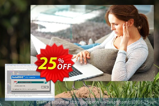 AutoDWG DWG to PDF Converter Pro discount 25% OFF, 2020 January offering sales