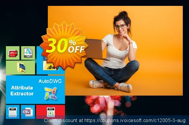 AutoDWG Attribute Extractor discount 30% OFF, 2019 Thanksgiving deals