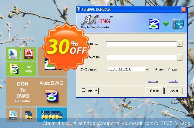 AutoDWG DGN to DWG Converter discount 30% OFF, 2021 Library Lovers Month offering sales