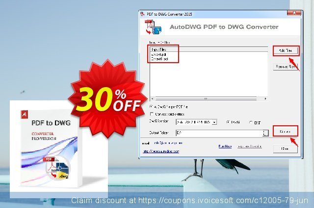 AutoDWG PDF to DWG Converter PRO discount 30% OFF, 2019 Christmas discounts