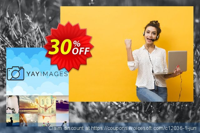 Yay Images Unlimited plan Monthly discount 30% OFF, 2021 Mother's Day promotions. 30% OFF Yay Images Unlimited plan Monthly, verified