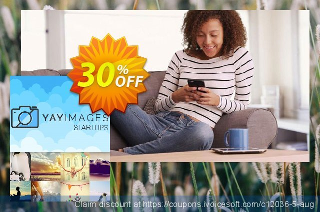 Yay Images Startups Solo Plan discount 30% OFF, 2021 Mother's Day discount. 30% OFF Yay Images Startups Solo Plan, verified