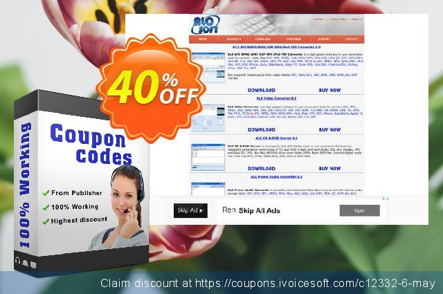 ALO Audio Editor discount 40% OFF, 2020 Back to School promo discount