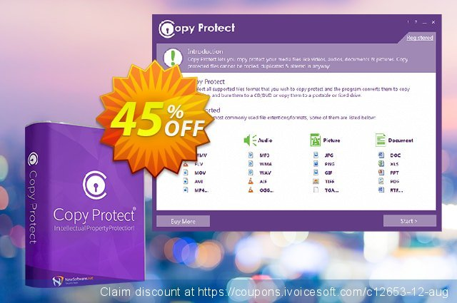 Copy Protect discount 25% OFF, 2020 New Year's Weekend offering deals
