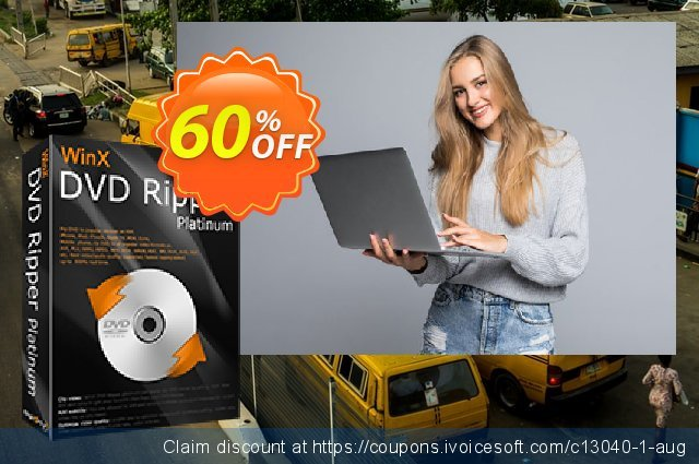 WinX DVD Ripper Platinum discount 34% OFF, 2020 Easter day offering deals