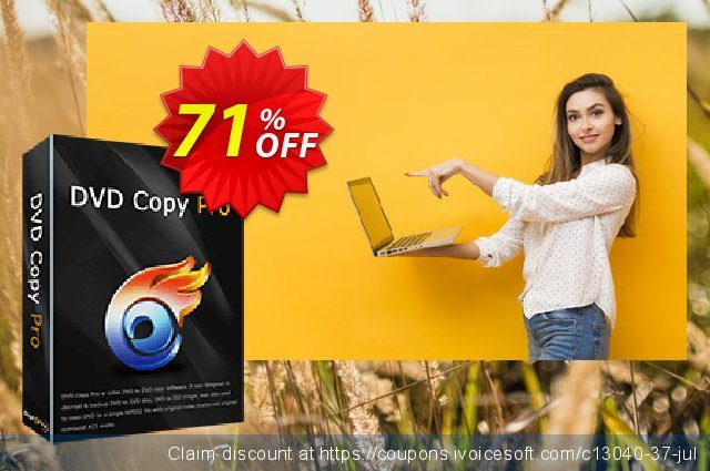 Get 71% OFF WinX DVD Copy Pro Lifetime discounts