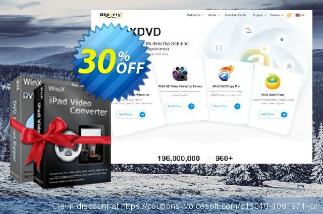 WinX iPad Converter Pack discount 30% OFF, 2019 Thanksgiving offering sales