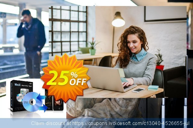 MacX iPhone DVD Ripper discount 25% OFF, 2019 Thanksgiving offering discount