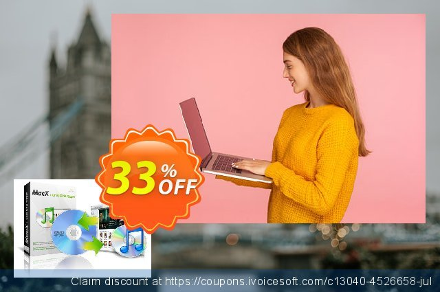 MacX iTunes DVD Ripper discount 33% OFF, 2020 Back to School event offering sales