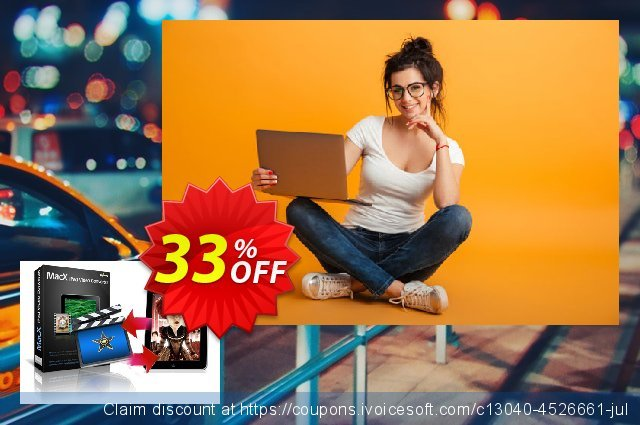 MacX iPad Video Converter discount 33% OFF, 2020 Back to School deals promo sales