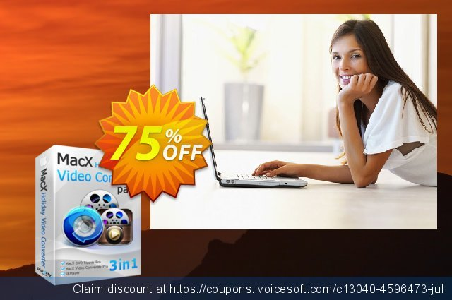 MacX Holiday Gift Pack discount 75% OFF, 2020 Summer offering sales