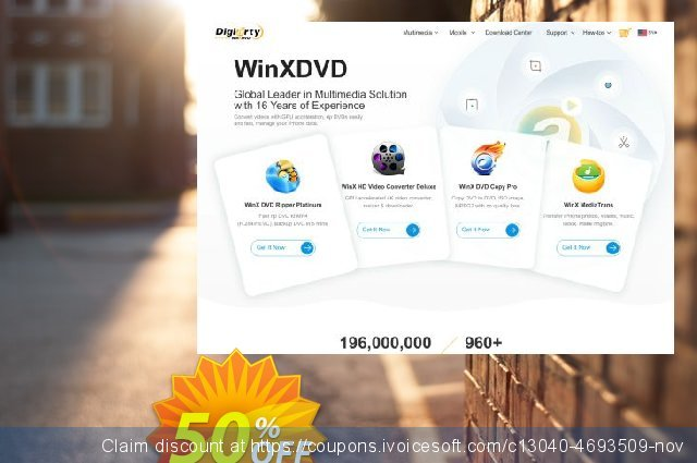 MacX MediaTrans Family discount 50% OFF, 2019 Thanksgiving sales