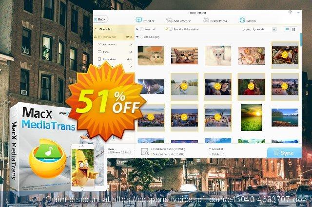 MacX MediaTrans Lifetime 神奇的 产品交易 软件截图