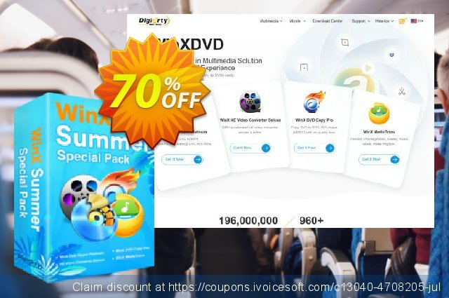 WinX Summer Video Special Pack | for 1 PC 最 产品折扣 软件截图