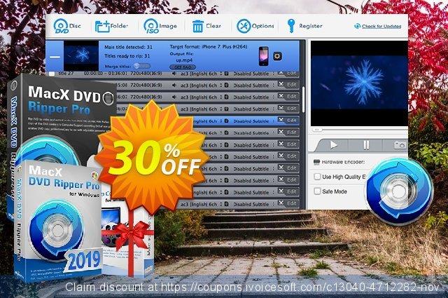 MacX DVD Ripper Pro for Windows Lifetime  최고의   세일  스크린 샷
