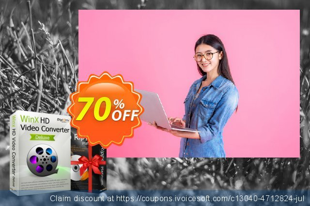 WinX HD Video Converter Deluxe (Lifetime) discount 51% OFF, 2020 Back-to-School promotions offering sales