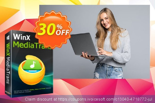 WinX MediaTrans (Lifetime/1 PC) discount 30% OFF, 2021 April Fools' Day offering sales