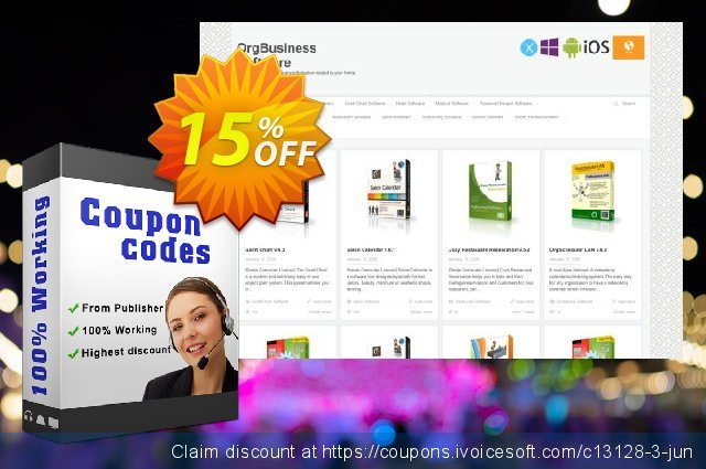OrgScheduler Pro discount 15% OFF, 2020 Back to School promotion sales