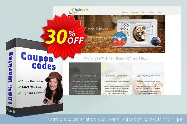 iWinSoft iPod Video Converter discount 30% OFF, 2019 Thanksgiving offering sales
