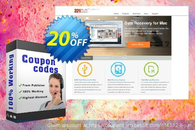 321Soft Flash Memory Recovery discount 20% OFF, 2019 Halloween sales