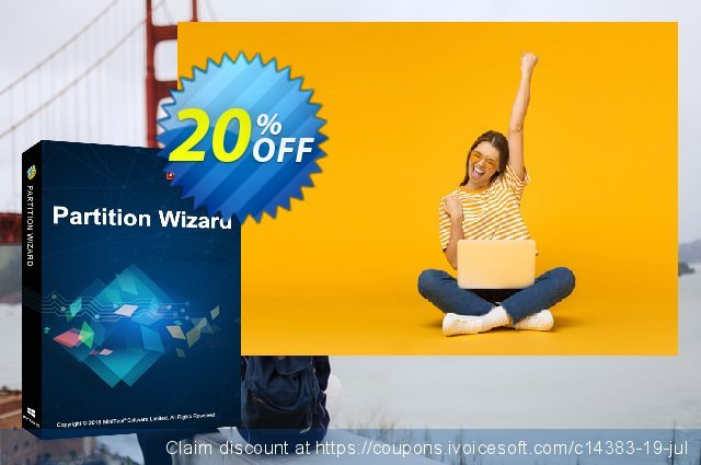 MiniTool Partition Wizard Technician (Lifetime Upgrade) discount 20% OFF, 2021 Labour Day discount. 20% off