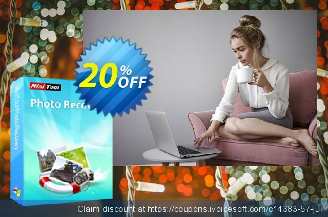 MiniTool Photo Recovery Personal discount 20% OFF, 2019 Black Friday offering sales