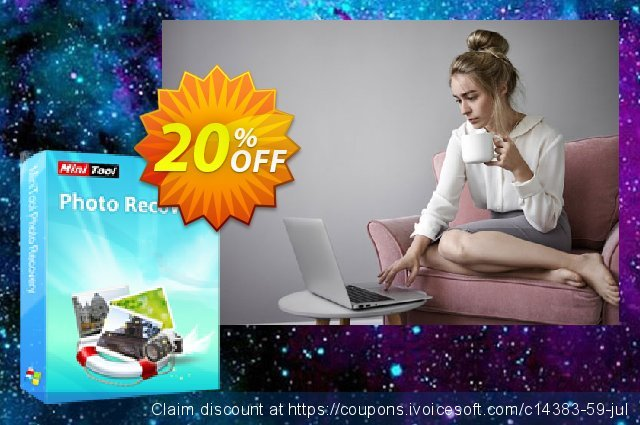 MiniTool Photo Recovery Deluxe discount 20% OFF, 2020 July 4th promo sales