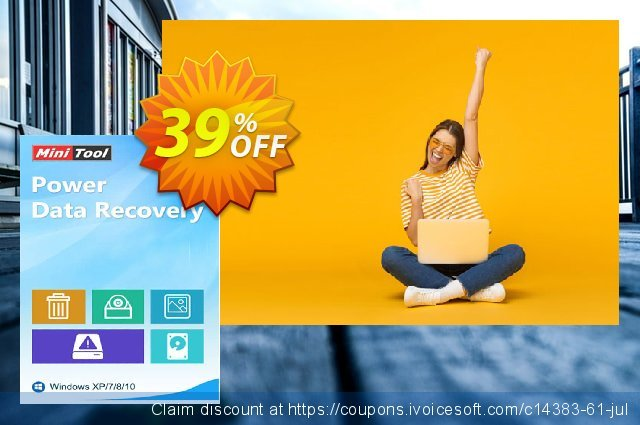 MiniTool Power Data Recovery - Personal Ultimate discount 20% OFF, 2019 Labour Day promo sales