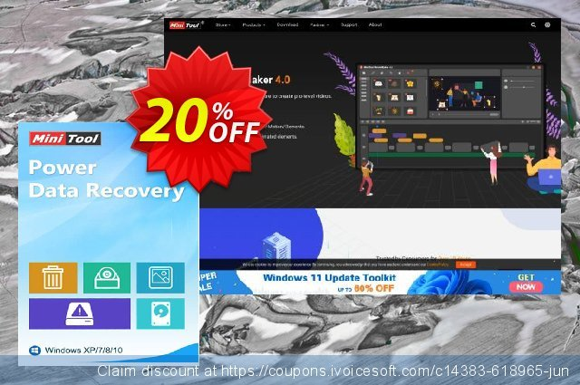 MiniTool Power Data Recovery - Business Enterprise discount 20% OFF, 2020 Labour Day offering sales