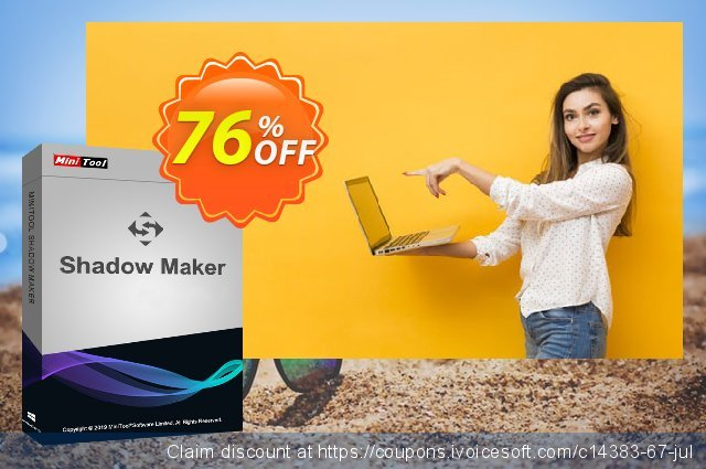 MiniTool ShadowMaker Pro discount 20% OFF, 2019 4th of July offering sales